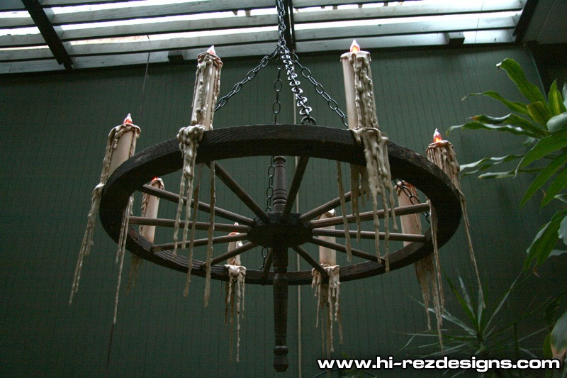 Lighting my first prop of the season pirate wagon wheel httphi rezdesigns2011prrwheel02g mozeypictures Gallery