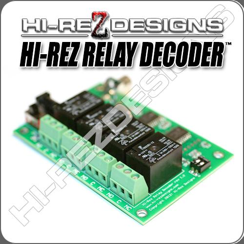Hi-Rez Relay Decoder