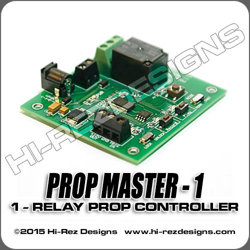 Prop Master - 1: 1-Relay Prop Controller