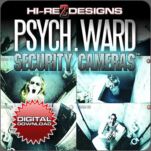 Psych Ward: Security Cameras - Deluxe Edition HD - DD