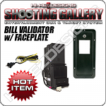 Bill Validator + Faceplate