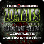 Zombie 3: Door Prop Series Complete Pneumatics Kit