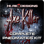 Axe Killer Complete Pneumatics Kit