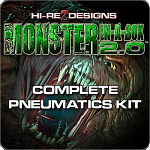 Monster In-A-Box 2.0 - Complete Pneumatics Kit