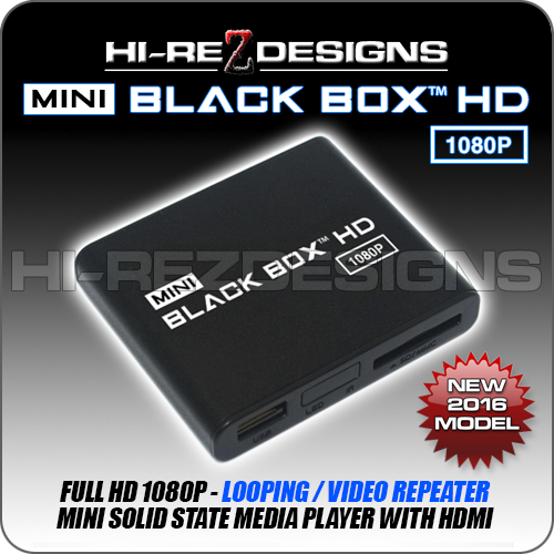 Mini Black Box™ 1080P HD - Looping / Video Repeater