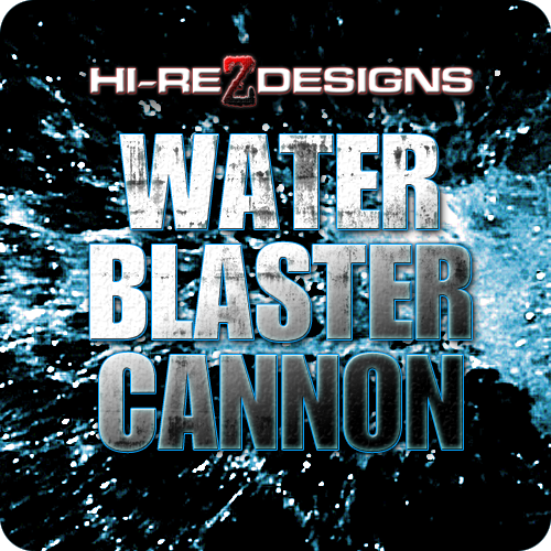 Water Blaster Cannon