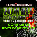 Zombie Containment 3 + 4: Breakout Edition Complete Pneumatics Kit