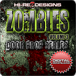 Zombies - Volume 3: Door Prop Series - HD-720P - DD